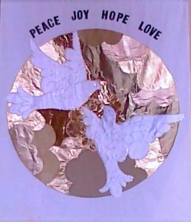 Peace Joy Hope Love